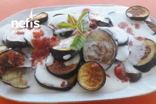 1 Kaşık Yağ İle Patlıcan Kızartma Tarifi