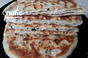 Börek Lezzetinde Tavada Peynirli Bazlamalar (3 Adet Muhteşem Tarif Mutlaka Deneyin) Tarifi