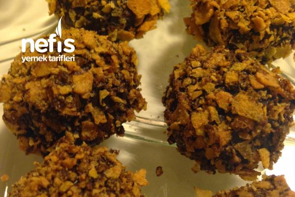 Çikolatalı Çıtır Kurabiye Topları Tarifi