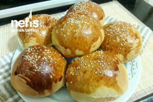 Dev Gibi Kabaran Hamburger Ekmeği Tarifi