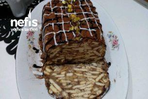 Kakaolu, Krem Şantili Mozaik Pasta Tarifi