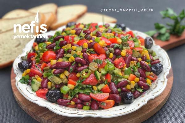 Meksika Salatası Nefis Tarifi