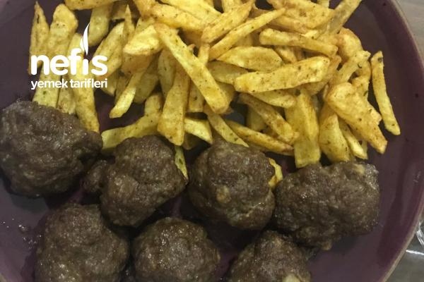 Baharatlı Köfte Patates Tarifi