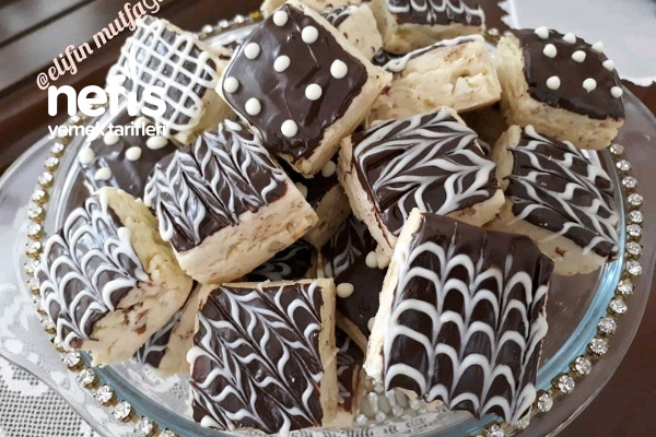 Çikolata Kaplı Kurabiye Tarifi