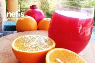 Narlı Ve Portakallı Meyve Suyu Tarifi