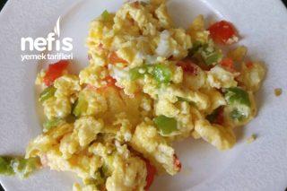 Yumurtalı Biber Tarifi