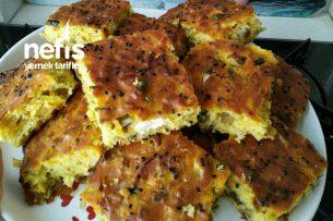 Pırasayı Sevdiren Tuzlu Kek Tarifi