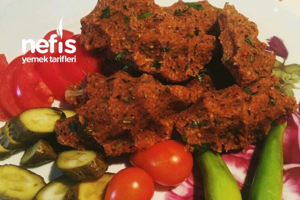 Şipşak 10 Dakika  Çiğ Köftesi ( Çiğ Köfte Tadında Kısır) Tarifi