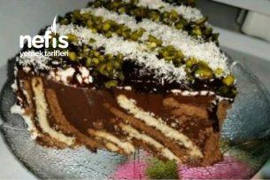 Çikolatalı Bisküvili Pudding Pasta (Harika Lezzet) Tarifi