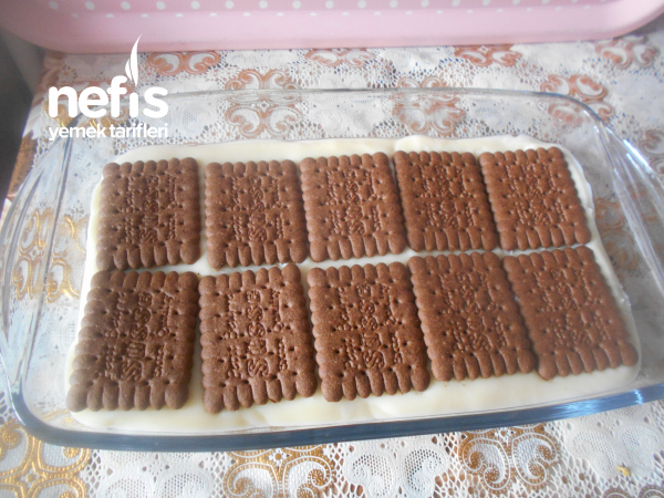 Kakaolu Biskivili Balkabak Püreli Tatlı