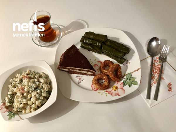 Misafirlerimize Akşam Çayı İkramları