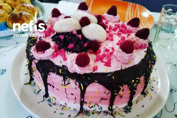 Pembe Doğum Günü Pastası Tarifi