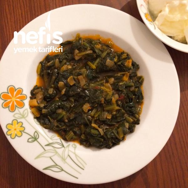 Pirinçsiz Zeytinyağlı Ispanak