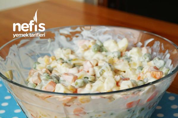 Rus Salatası (Tam Kıvamında)