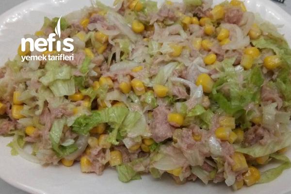 Tonbalığı Salatası Tarifi
