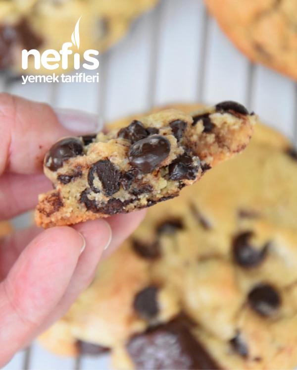 Çikolata Parçacıklı Cookie