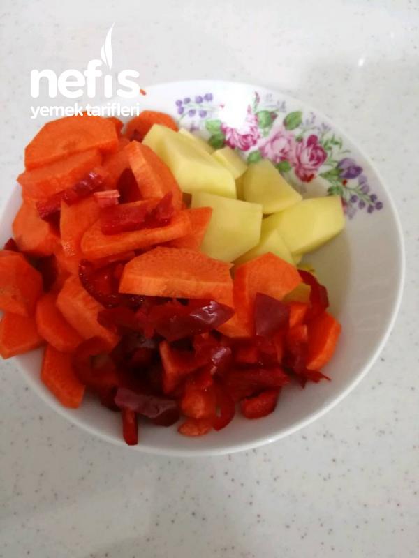 Kıymalı Karnabahar Yemeği