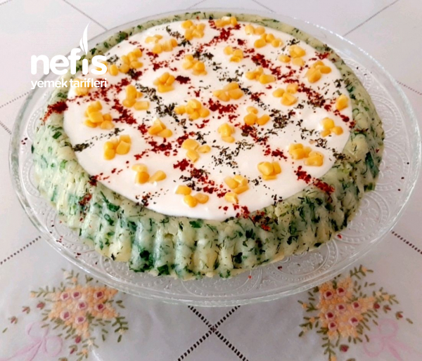 Patates Salatasi(tart Kalıbında)