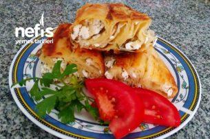 Tavada Peynirli Börek Tarifi