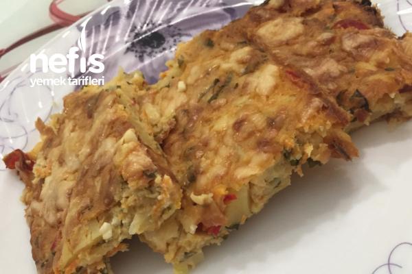 Fırında Patates Mücveri Tarifi