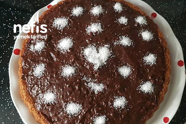 Hazır Pudingle Kolay Tart Kek (Videolu) Tarifi