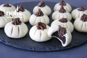 Kakao Dolgulu Kurabiye Tarifi