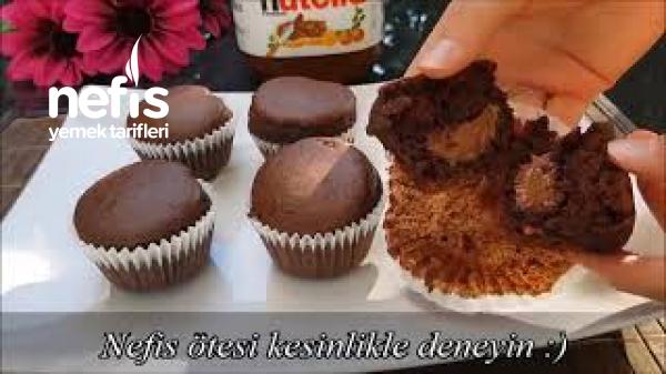 Kolay Nutella Muffin Tarifi  (Videolu)