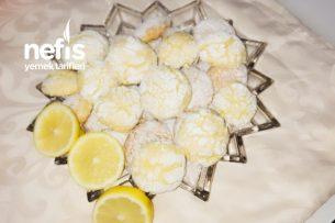 Limonlu Kurabiyeler Tarifi
