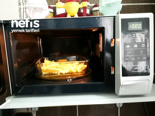 Mikrodalgada Patates Kızartması