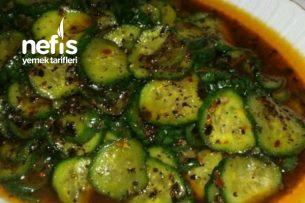 Muhteşem Lezzette Salatalık Salatası Tarifi
