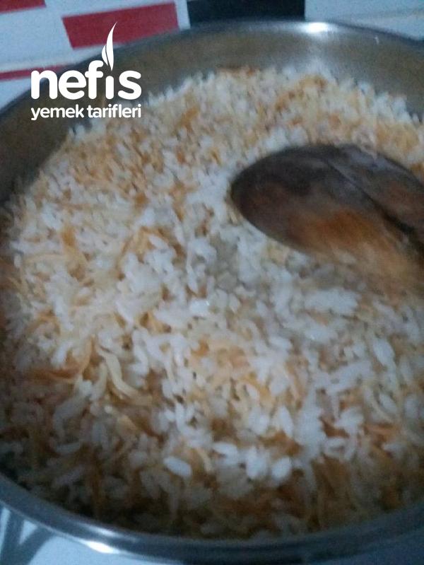 Tane Tane Tam Ölçülü Pirinç Pilavı