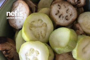 Buharda Kabak Ve Patlıcan Tarifi