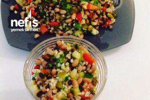 Bulgurlu Börülce Salatası (Videolu) Tarifi