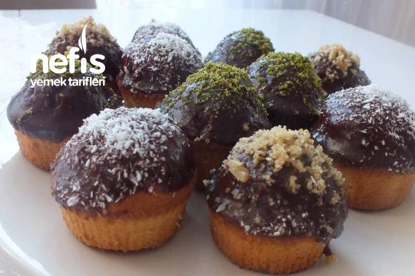 Çikolatalı Kap Kek (Videolu) Tarifi