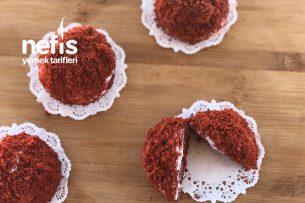 Kırmızı Kek Harçlı Köstebek Pasta Tarifi