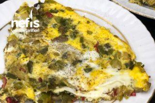 Mantarlı Yumurtalı Pırasa (Çok Pratik Ve Lezzetli Yemek Arayanlara) Tarifi