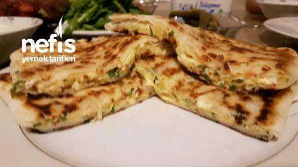 Patatesli, Peynirli Gözleme(Yufka İle)