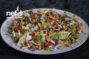 Renkli Karışık Salatam Tarifi