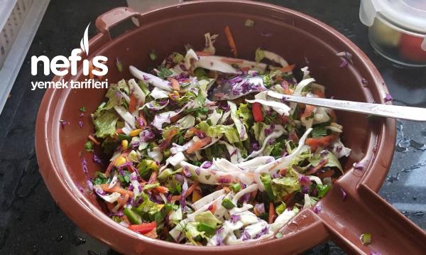 Renkli Karışık Salatam