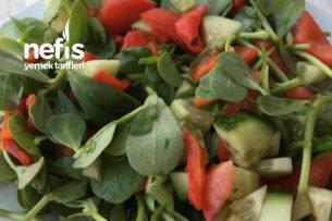 Semizotlu Salata Tarifi