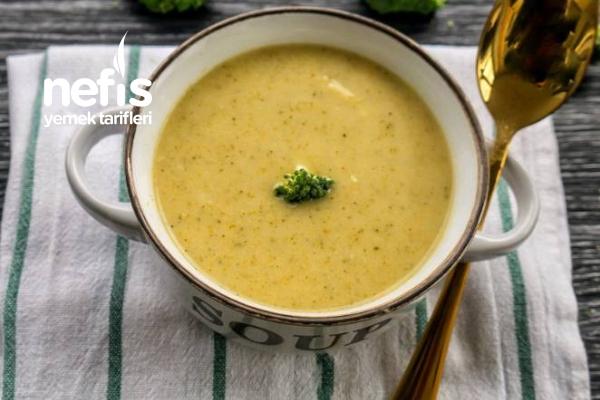 Sütlü Sebzeli Brokoli Çorba Tarifi