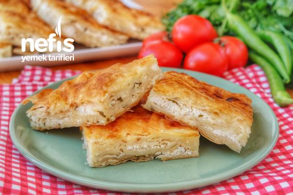 Yumuşacık Peynirli Börek