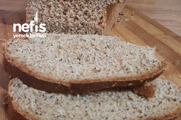 Haşhaşlı Tam Buğday Ekmeği Tarifi