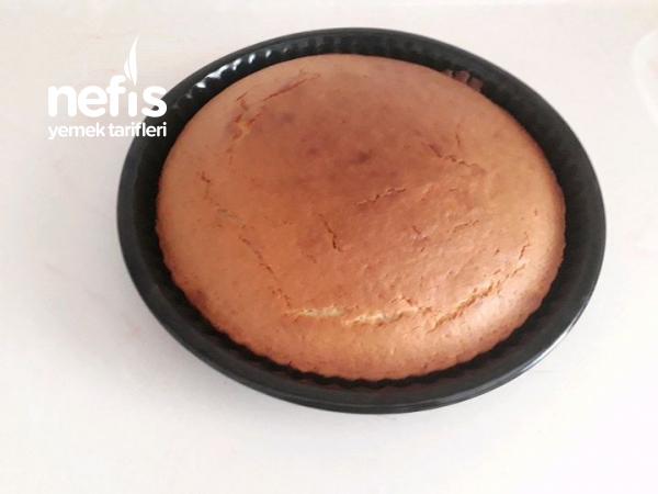 Tart Kalıbında Çikolatalı Kek