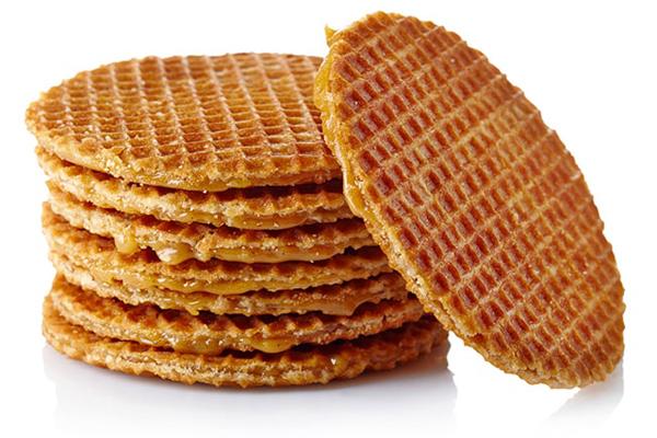 hollanda waffle karamel