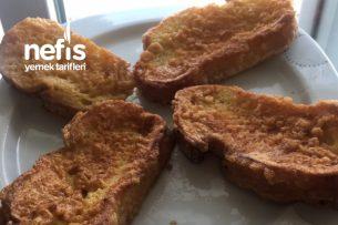 Yumurtalı Ekmek Kahvaltıda Tarifi