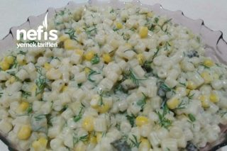 Boncuk Makarna Salatası Tarifi