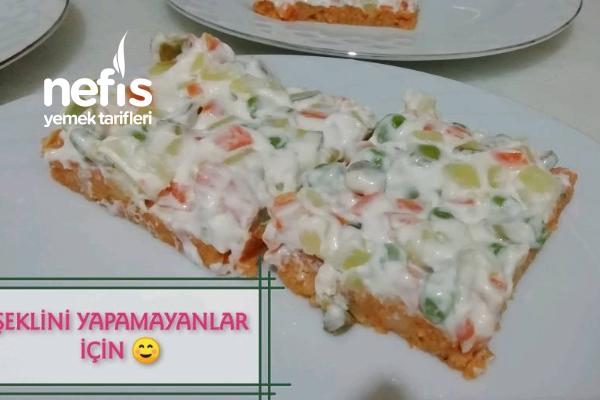 Çanak Salata (videolu)