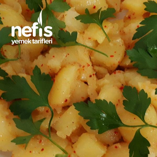 Kahvaltılık Patates Salatası