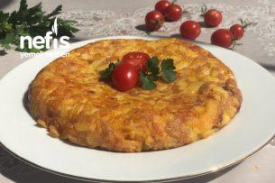 Kahvaltılık Yumurtalı Patates Tarifi
